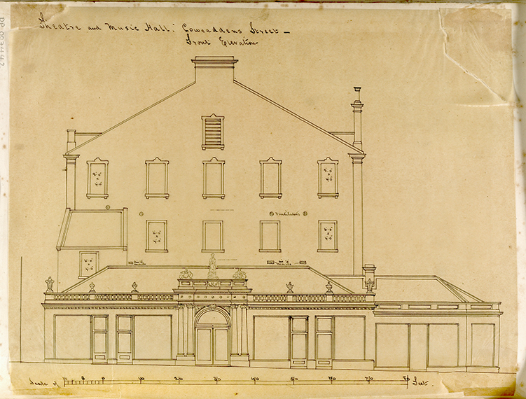 George Bell, Front Elevation, 1867